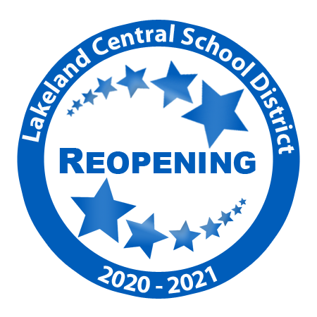 Lakeland Central Schoool District Reopening 2020-2021