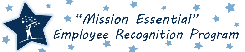 """Mission Essential"" Employee Recognition Program"
