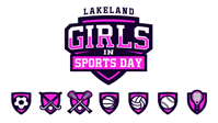 Lakealnd Girls in Sports Day logo