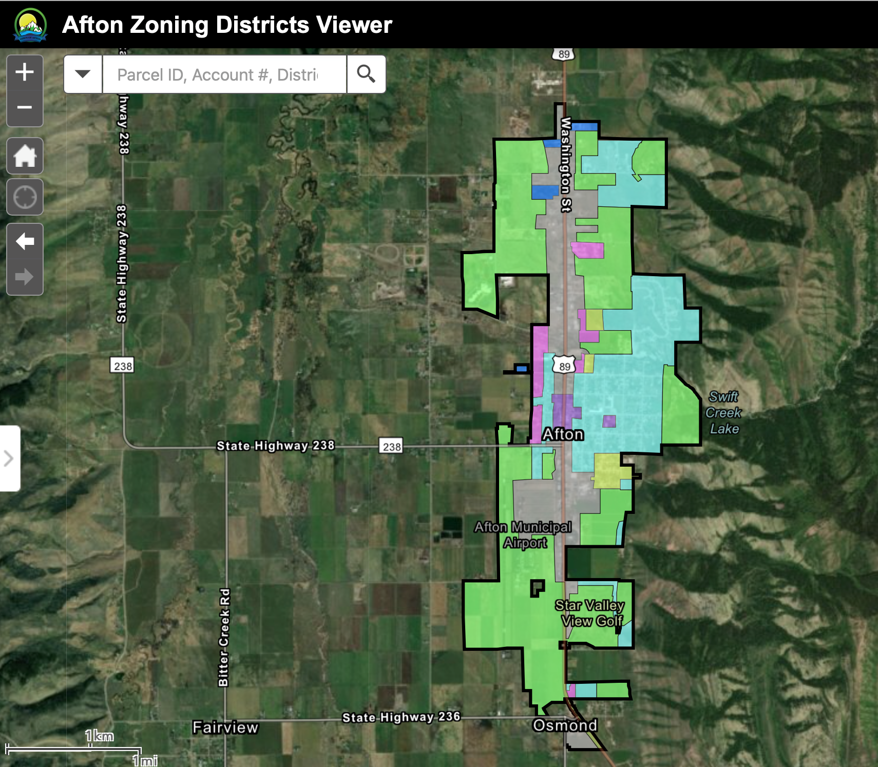 zONING dISTRICT vIEWER
