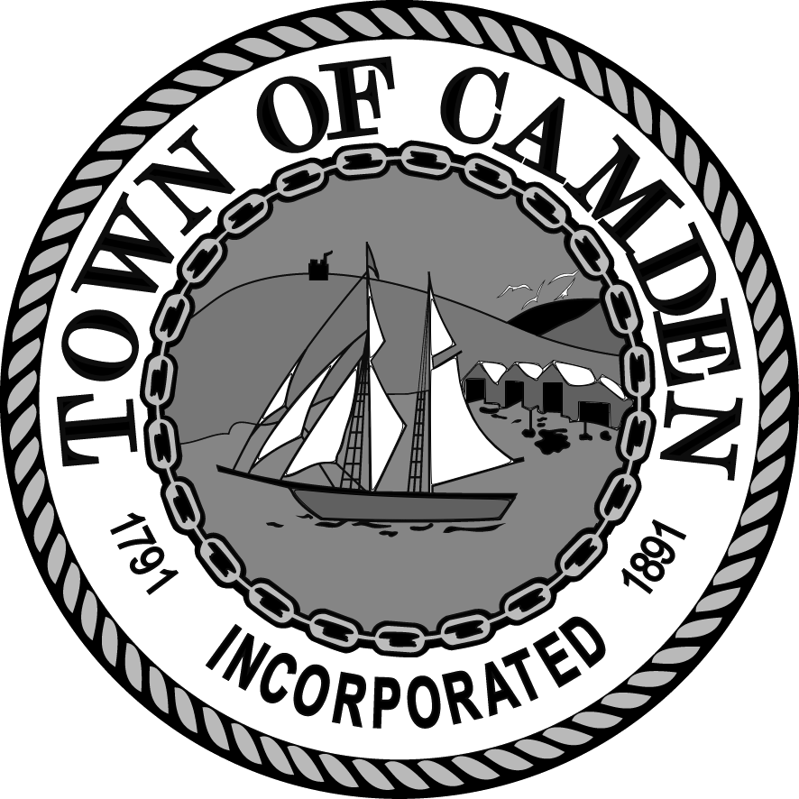 TOWN SEAL GREYSCALE