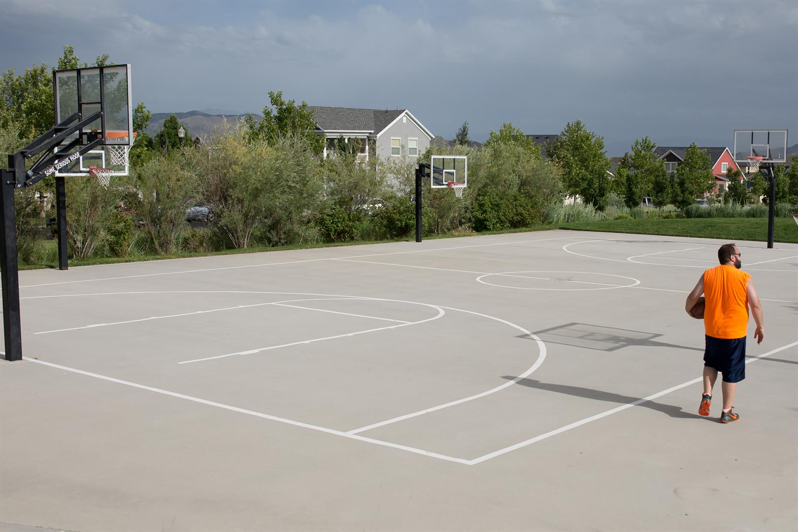 founders park basketball court