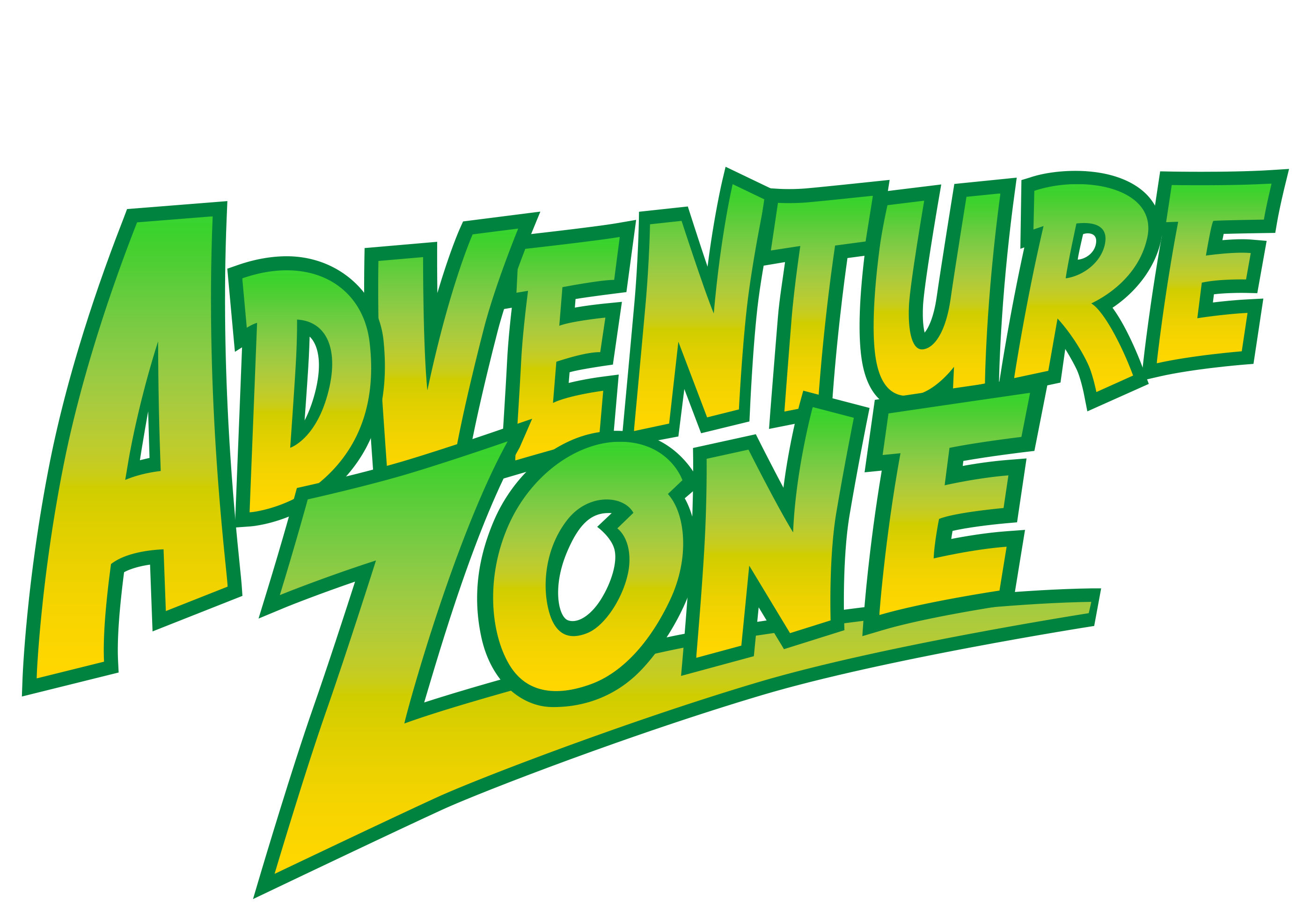 adventure zone text logo