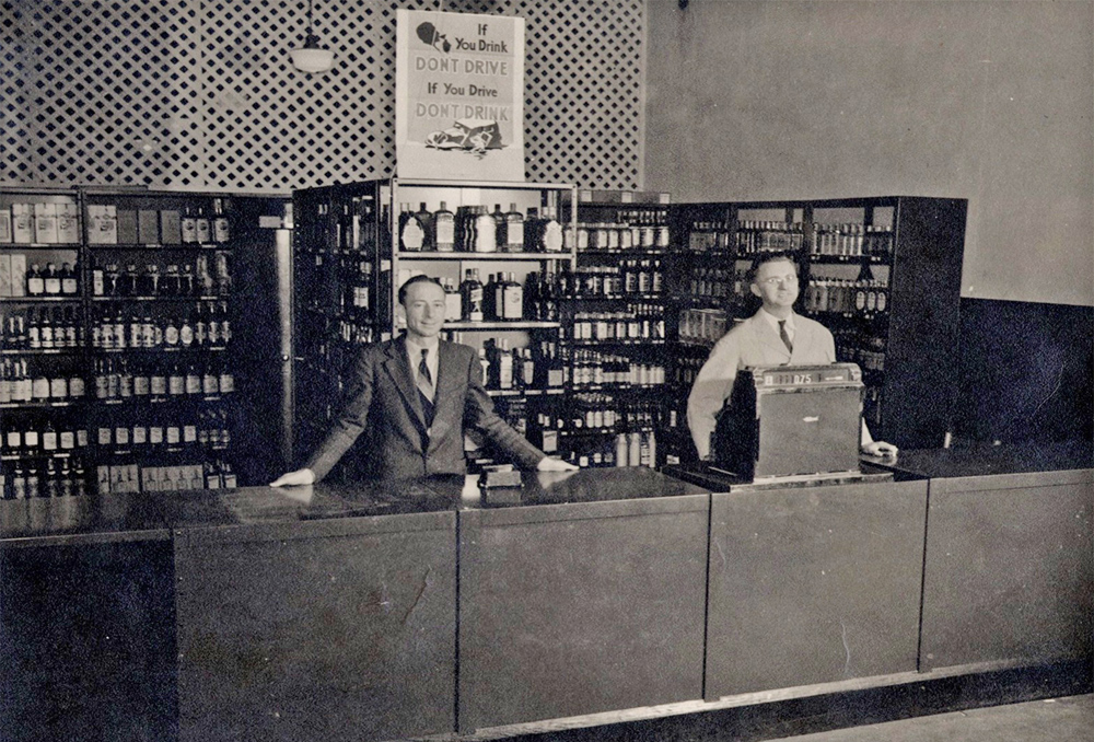 Mecklenburg County ABC Counter Store, 1935