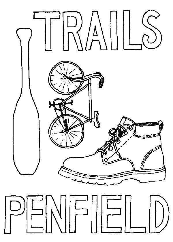 Penfield Trails Committee logo
