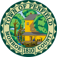 The logo of Penfield, NY