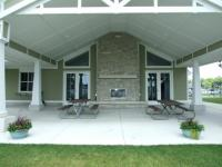 Community center pavillion