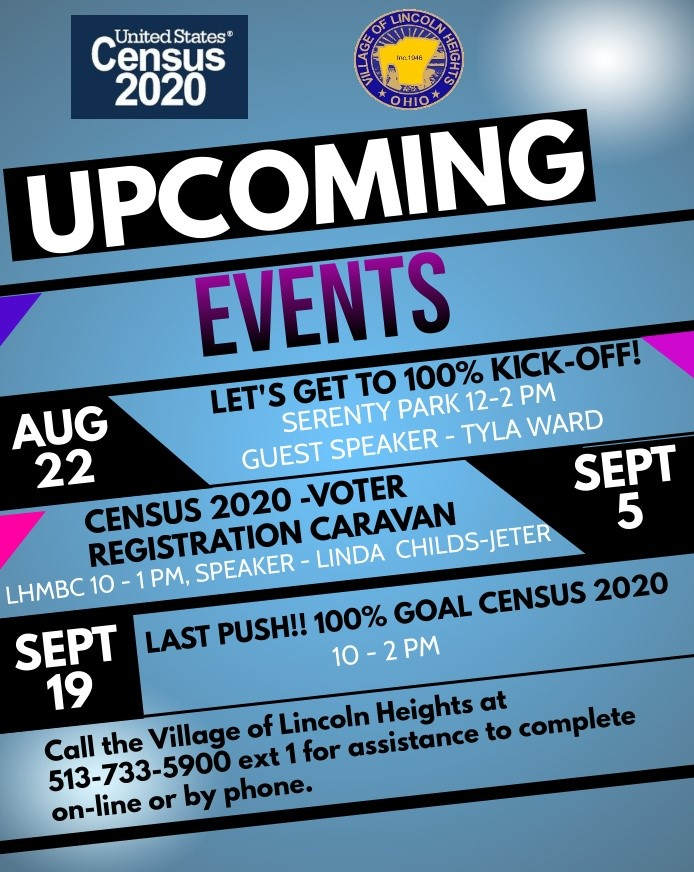 Census2020 EVENT FLYER