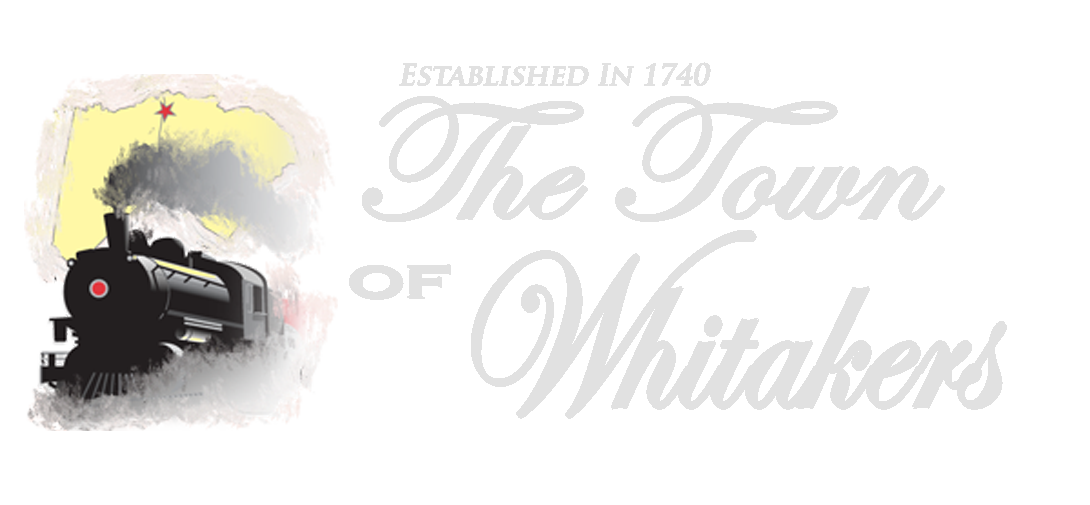 The Town of Whitakers Logo
